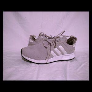 grey x_plr adidas grey size 7 men's women's 9